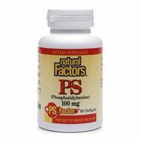 Natural Factors PS (Phosphatidylserine) 100mg