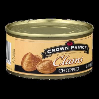 Crown Prince Clams Chopped