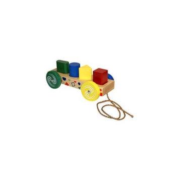 Holgate HZ755 Form Peg Wagon Wooden Toy