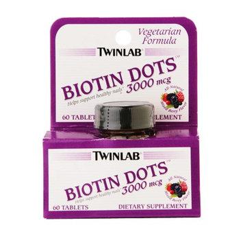 Twinlab Biotin Dots 3000 mcg