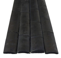 Backyard X-scapes, Llc Backyard X-Scapes Bamboo Slats Black 1.75