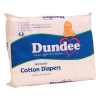 Crown Crafts Dundee Pre Fold Diaper - White