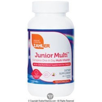 Zahlers Zahler Junior Multi, Optimal Multivitamin and Mineral Supplement for Kids, Delicious Best Tasting Cherry Chewable Tablets, All Natural Color and Flavor, The #1 Top Quality Multivitamin for Children, 180 Chewable Tablets