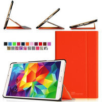 Fintie Light Weight Stand Supports Three Viewing Angles Case for Samsung Galaxy Tab S 8.4 (8.4-Inch) Tablet, Orange