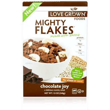 Love Grown Foods CEREAL, MIGHTY CHC JOY FLK, (Pack of 6)