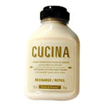 Fruits & Passion CUCINA Regenerating Hand Cream Refill - 9 fl. oz. - Zucchini Flower & Truffle