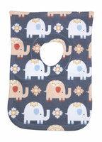 Greatlookz Fashion Greatlookz Animal Envy Cotton Printed Baby Bib, Elephants