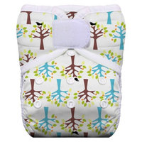 Thirsties Reusable Pocket Diaper with Hook & Loop, One Size -