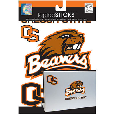 NCAA Removable Laptop Sticker, Oregon State Beavers