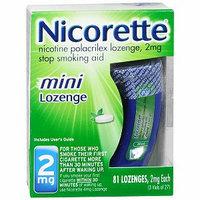 Nicorette Nicotine Polacrilex Mini Lozenge