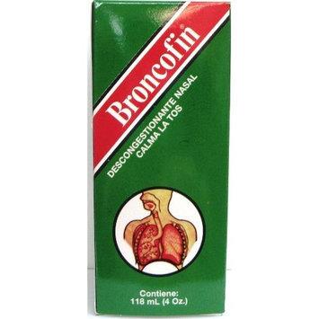 Menper Distributors Broncofin Nasal Decongestant, Cough Suppressant 4 fl oz