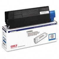 Okidata Corporation 43034803 Toner Cartridge, Cyan - OKIDATA