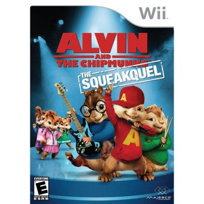 Majesco Alvin And The Chipmunks: The Squeakquel (nintendo Wii)