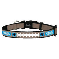 GameWear Carolina Panthers Reflective Large Football Collar