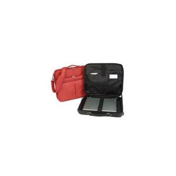Royce Leather 682-BLACK-5 17 Inch Laptop Briefcase - Black