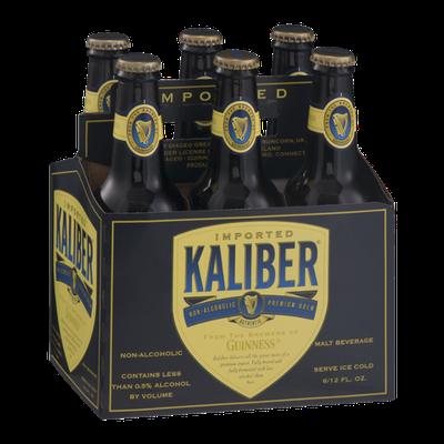 Kaliber Non-Alcoholic Premium Brew Malt Beverage - 6 PK