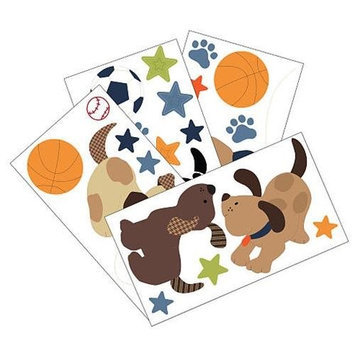Lambs & Ivy Bedtime Lambs & Ivy Bow Wow Wall Appliques