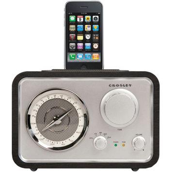 Crosley Radio CR3009A-BK Isolo Radio and Mp3 Dock