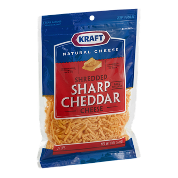 Kraft Sharp Cheddar Cheese Shredded