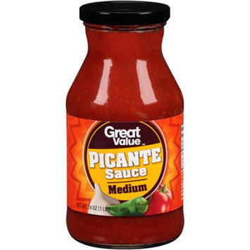 Wal-mart Stores, Inc. Great Value Medium Picante Sauce, 24 oz