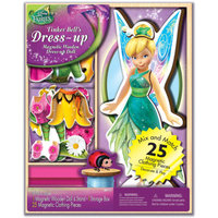 Disney Tinker Bell Wooden Magnetic Play Set, 25 Pieces