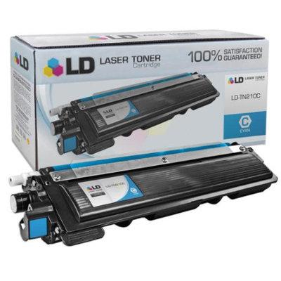 LD Brother Compatible Cyan TN210C Laser Toner Cartridge for the DCP-9010CN, HL-3040CN, HL-3045CN, HL-3070CW, HL-3075CW, MFC-9010CN, MFC-9120CN, MFC-9125CN, MFC-9320CN, MFC-9320CW, MFC-9325CW Printers