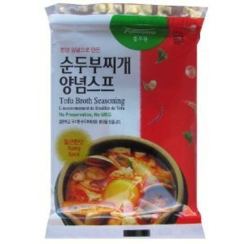Pulmuone Foods Tofu Broth Seasoning - 1.58 Oz (45g) (Spicy)