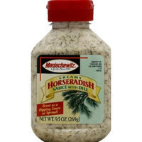 Manischewitz Horseradish with Dill Sauce 9.5 oz. (Pack of 9)