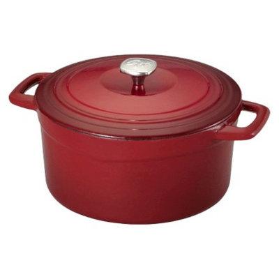 Guy Fieri Porcelain Cast Iron 7 Quart Dutch Oven Red