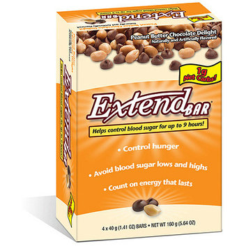 ExtendBar Peanut Butter Chocolate Delight Snack Bars