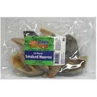 Red Barn 10 pack Naturals Smoked Hooves Dog Chews, Net Wt 14 oz