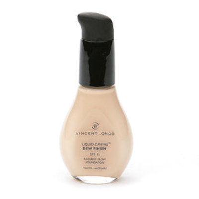 Vincent Longo Liquid Canvas Dew Finish Radiant Glow Foundation with Pump