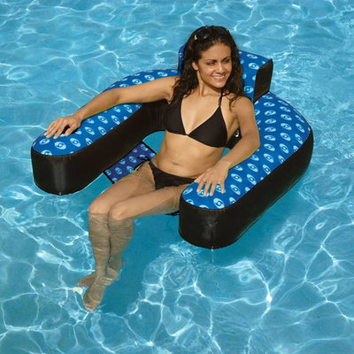 Swimline Designer Loop Floating Pool Lounger