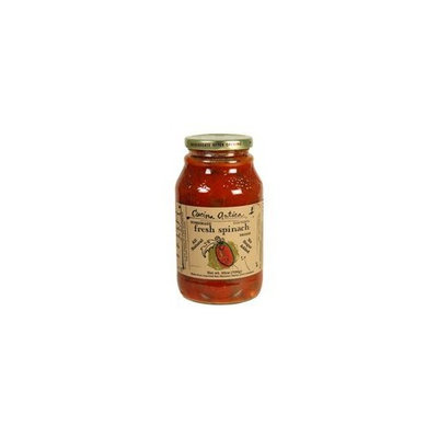 Cucina Antica Fresh Spinach Marinara 25 OZ ( Value Bulk Multi-pack)