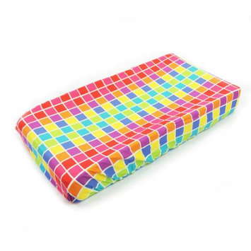 Terrific Tie Dye - Changing Pad Cover Squares One Grace Place Terrific Tie Dye Squares Changing Pad Cover