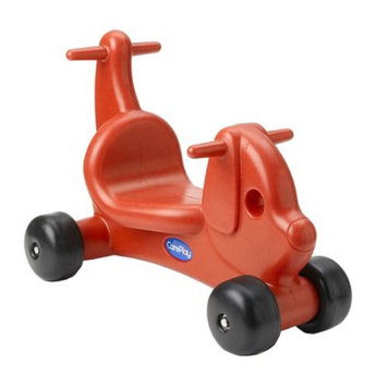CarePlay Riding Puppy - Red
