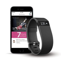 Fitbit Charge HR + FitStar Personal Training Bundle - Small