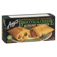 Amy's Broccoli & Cheese in a Pocket Sandwich