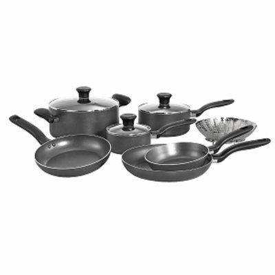 T-Fal Initiatives 10-piece Cookware Set