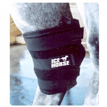 Ice Horse Hock Wrap, 3 Lb Black