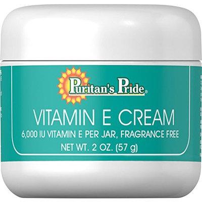 Puritans Pride Puritan's Pride Vitamin E Cream 6,000 IU-2 oz Cream