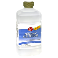 Walgreens Unflavored Pediatric Electrolyte