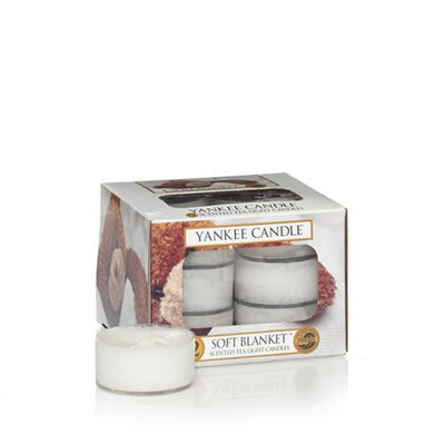 Soft Blanket Yankee Candle Tea Lights