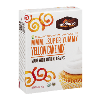 Madhava Super Yummy Yellow Cake Mix