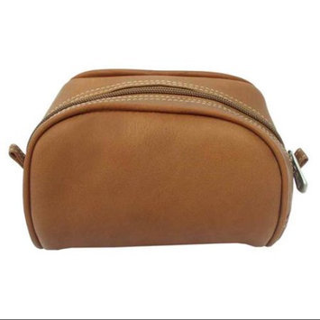 Piel Leather Cosmetic Bag - Black