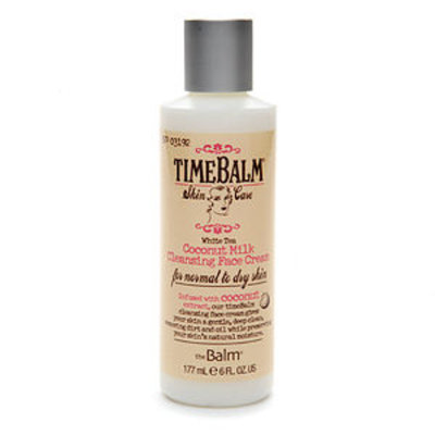 theBalm timeBalm Skincare Coconut Milk Cleansing Face Cream
