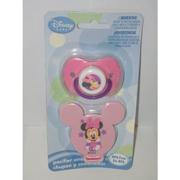 Disney Minnie Mouse Pacifier and Holder