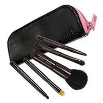 avon mark makeup brush Avon Mark Go with the Pro Makeup Brush Set Free Zip Case
