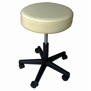 Sivan Health And Fitness Rolling Adjustable Stool For Massage Tables Medical Office and Home Use