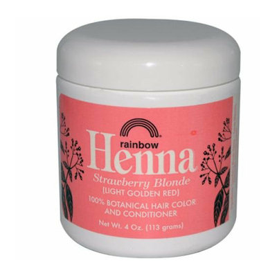 Rainbow Research Henna Hair Color and Conditioner Persian Strawberry 4 oz